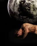 Naked Man on Moon