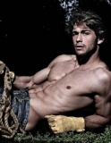 Sexy Man in Forrest