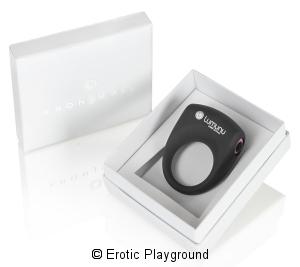 Deluxe Silikon Vibro Penisring Kronjuwel by Lumunu